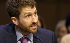 Former Google design ethicist Tristan Harris testifies before the U.S. Senate in The Social Dilemma