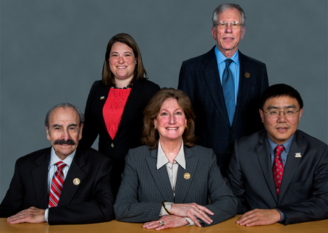 The members of the Governing Board