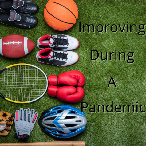 Student athletes training despite pandemic