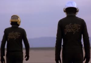 Screenshot from Daft Punk's video