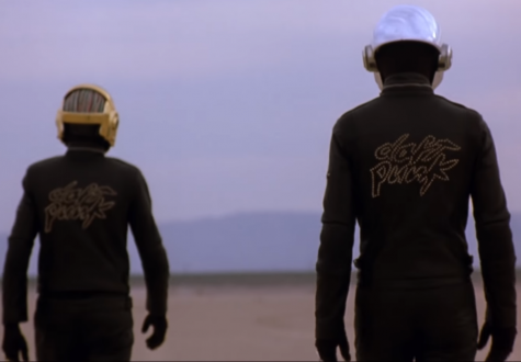 Screenshot from Daft Punks video Epilogue.