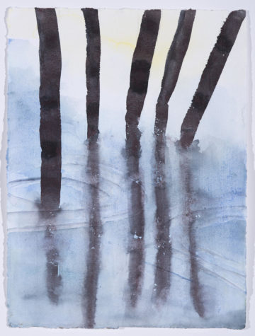 """MVC Light 3"" watercolor painting."